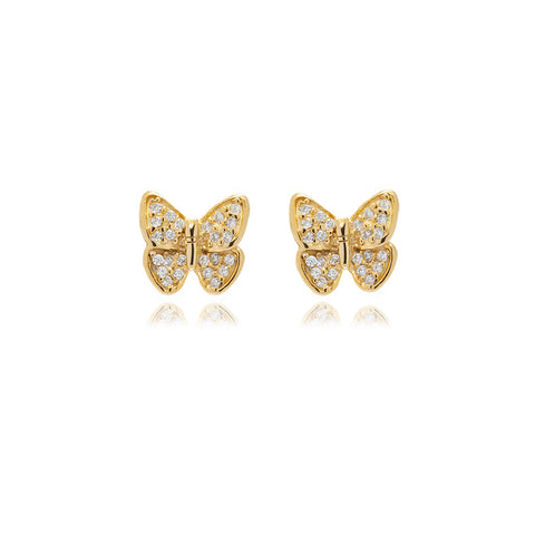 Nine Leaf Chandelier Line Earring