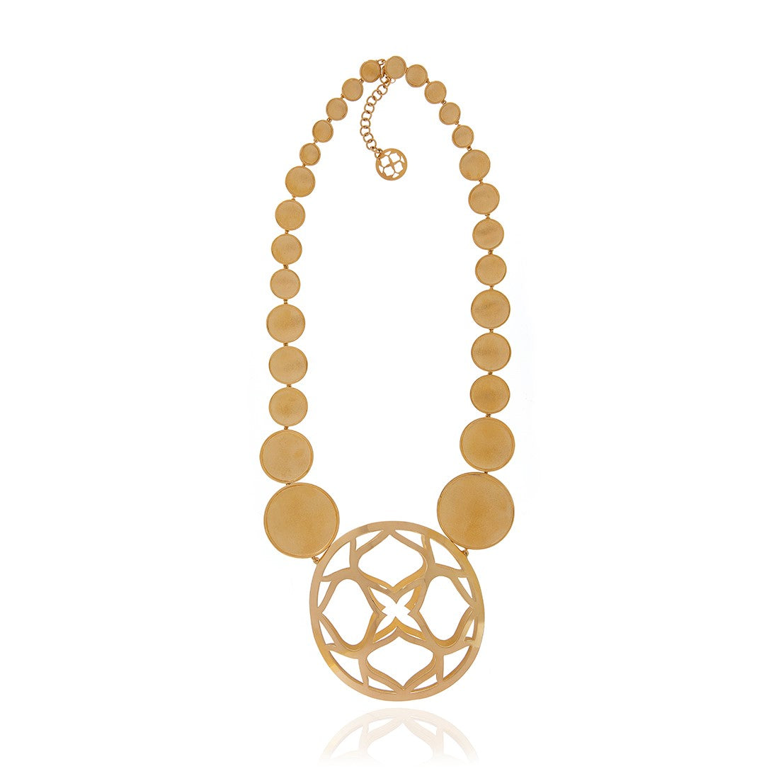 Signature Gold Runway Necklace - Georgina Jewelry