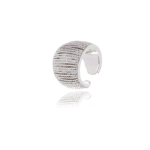 Raffine Rope Ring - Georgina Jewelry