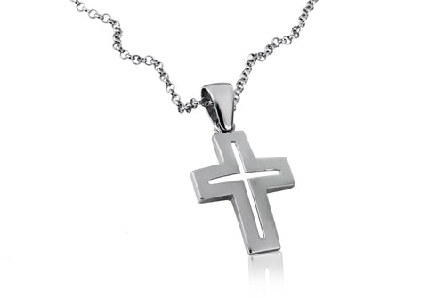 Signature Cross - Georgina Jewelry