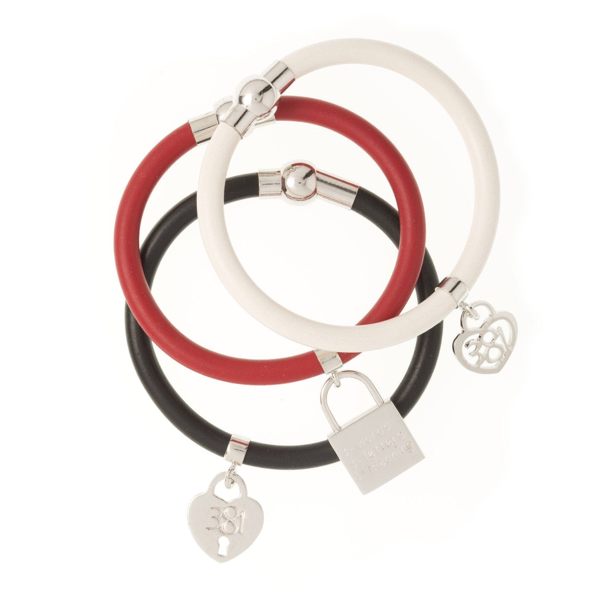 "3 Words 8 Letters 1 Meaning ""I Love You""  Bracelet - Georgina Jewelry"