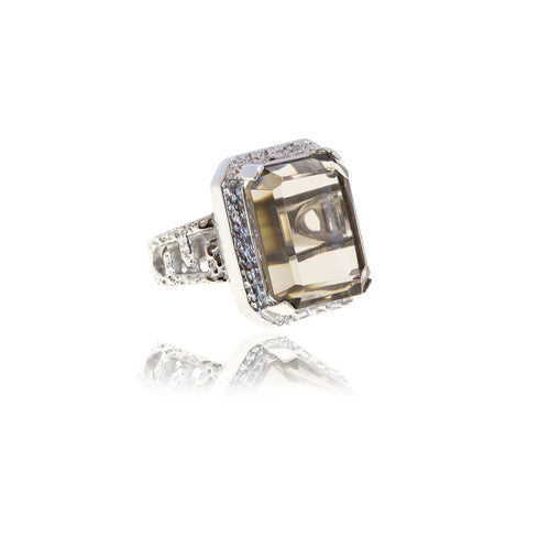 Luxe Crystal Ring - Georgina Jewelry