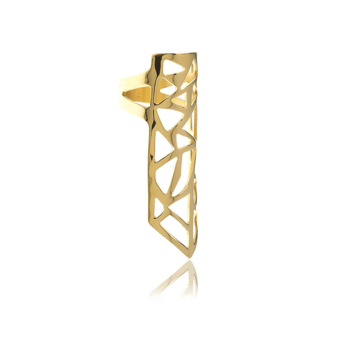 Les Racines Gold Roots Ring - Georgina Jewelry