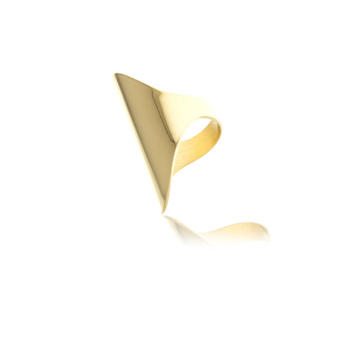 Sidereal Gold Smooth Ring - MCK Brands