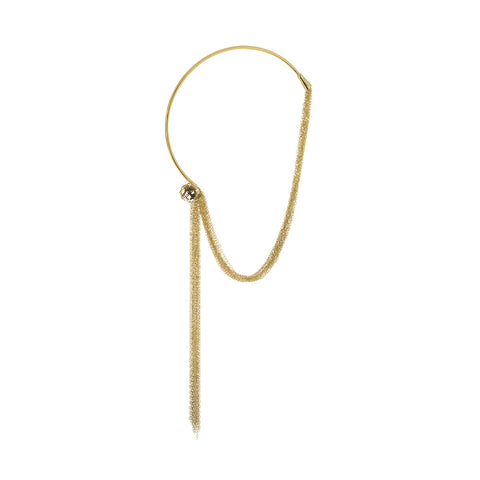 Signature Two Tone Runway Necklace