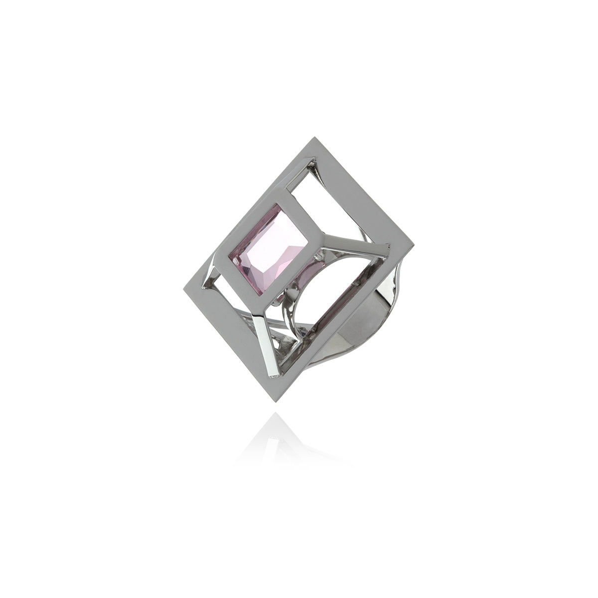 Gold Square Ring - MCK Brands