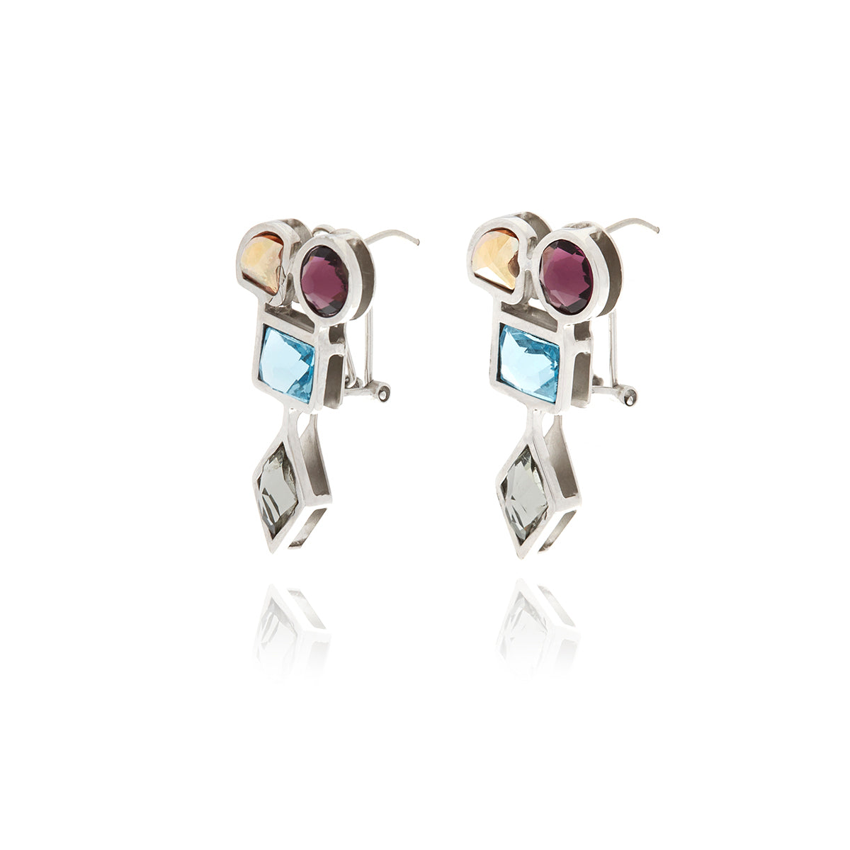 Luxe Silver Earrings - Georgina Jewelry