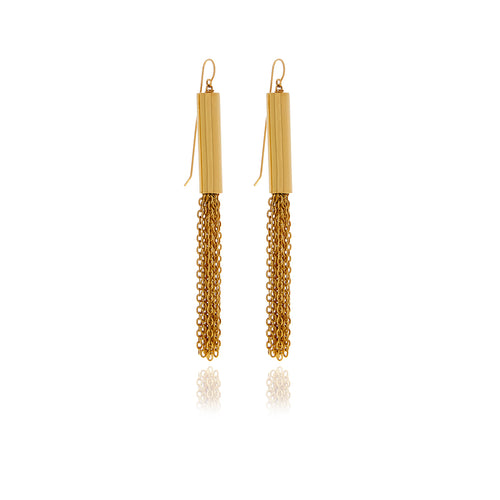 Revere Gold  Chain Earrings - Georgina Jewelry