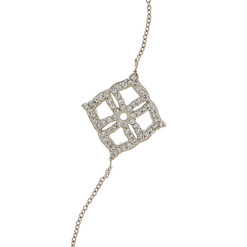 Chandelier Long Diamond Necklace - Georgina Jewelry