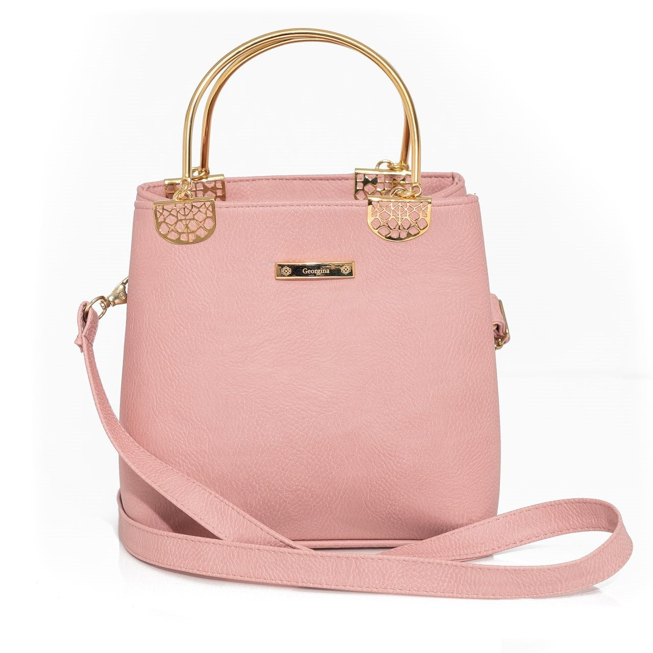 Pink Georgina Tote & Cross Body