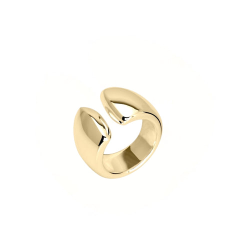 Reverie Gold  Smooth Open Ring - Georgina Jewelry