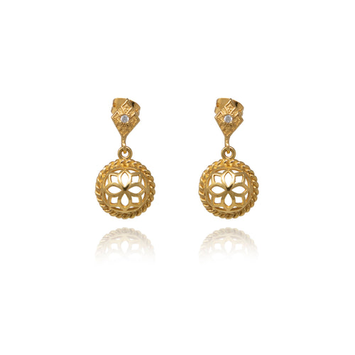Dangle  Signature Earrings - Georgina Jewelry