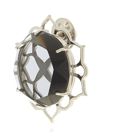 ERA Crystal Pin Men's Brooch - Georgina Jewelry