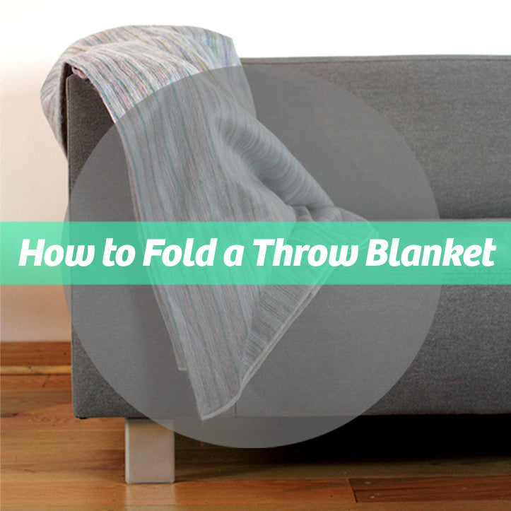 How to Fold a Throw Blanket
