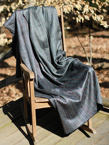 gray alpaca blanket, gray alpaca throw, gray blanket, luxurious gray throw, gray sofa throw,