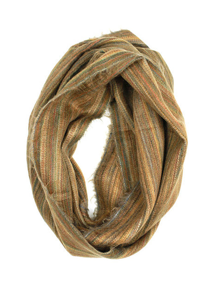 2016 winter scarf trends, brown infinity loop, light brown scarf, best scarves, infinity scarves