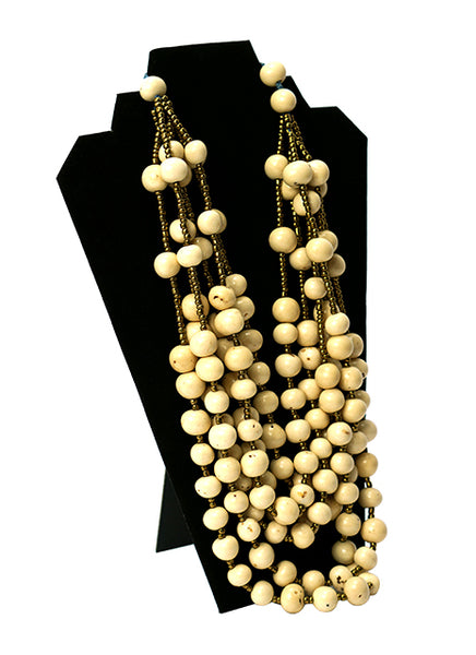 ivory tagua nut necklace jewelry