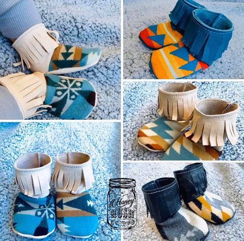 Infant Pendleton Booties