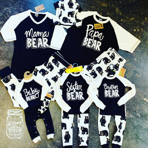 Bear Family Pajamas