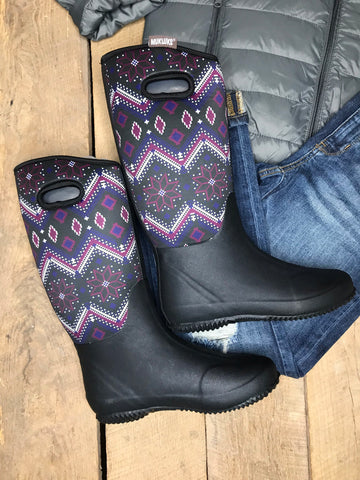ML Purple Rain Boots