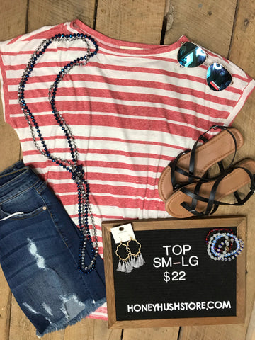 Striped Basic Top