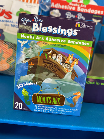 Wee Believers Noahs Ark Adhesive Bandages