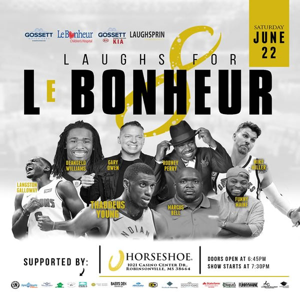 General Admission Ticket - 8th Annual Laughs for Le Bonheur