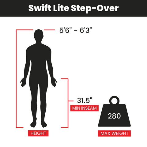 Swift Lite Step Over Bike Fit