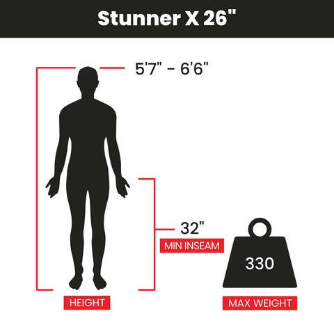 "Stunner X 26"" Bike Fit"