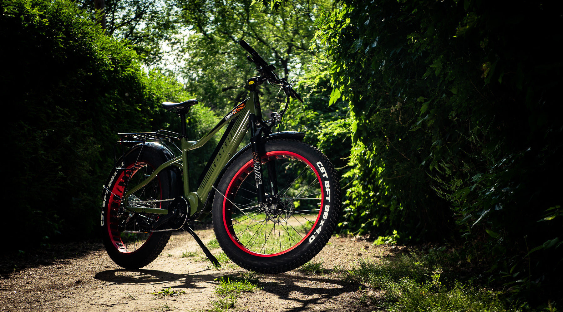 THE JUGGERNAUT CLASSIC ELECTRIC MOUNTAIN BIKE
