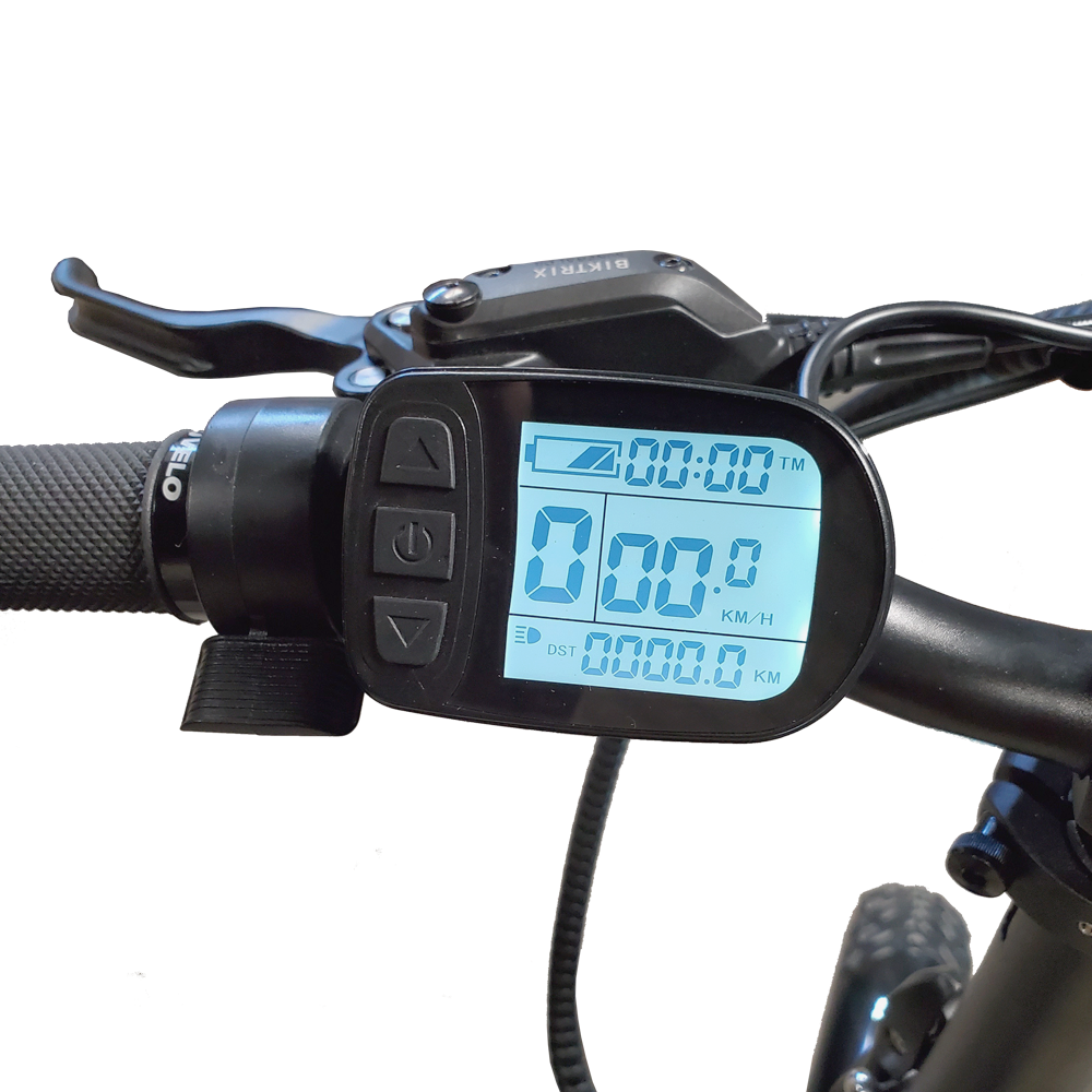 LCD with Control Pad & Thumb Throttle