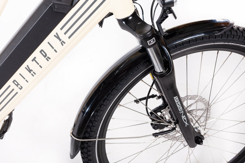 ebike with front suspension