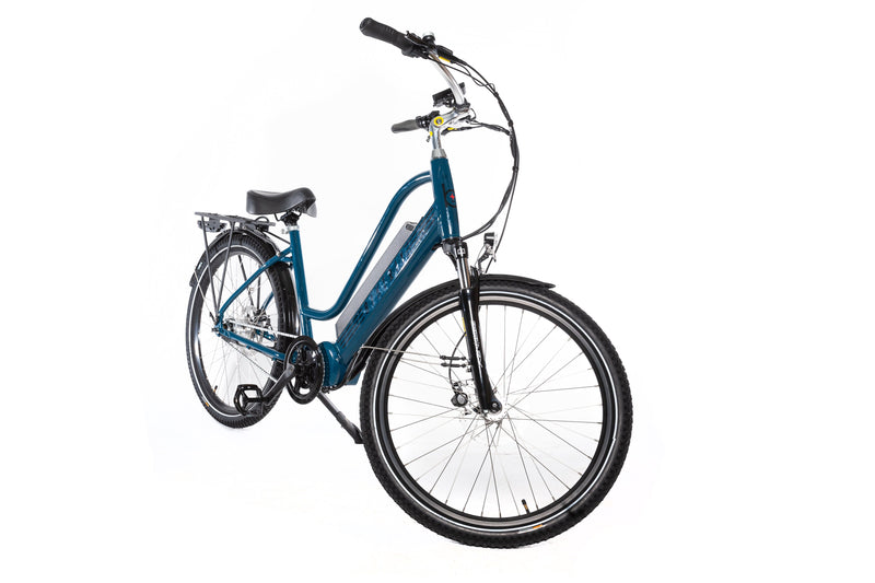 ebike with cruiser handlebars