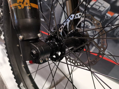 Inverted Suspension Air Fork BF-34RC