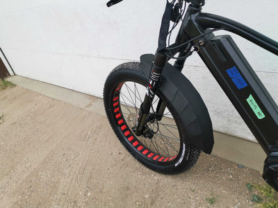 Biktrix Armadillo Front Fender for Inverted Forks