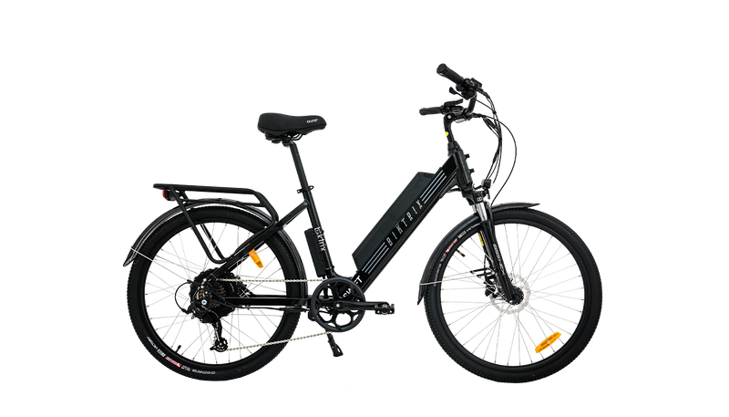 electric bike with cruiser handlebars