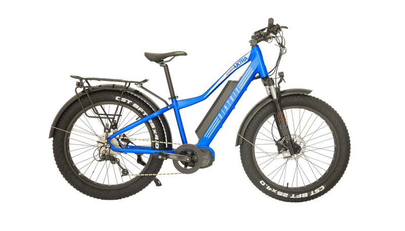 blue biktrix fat tire electric bike