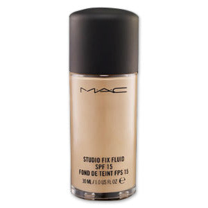 MAC Cosmetics Studio Fix Fluid SPF 15 Shade NC55