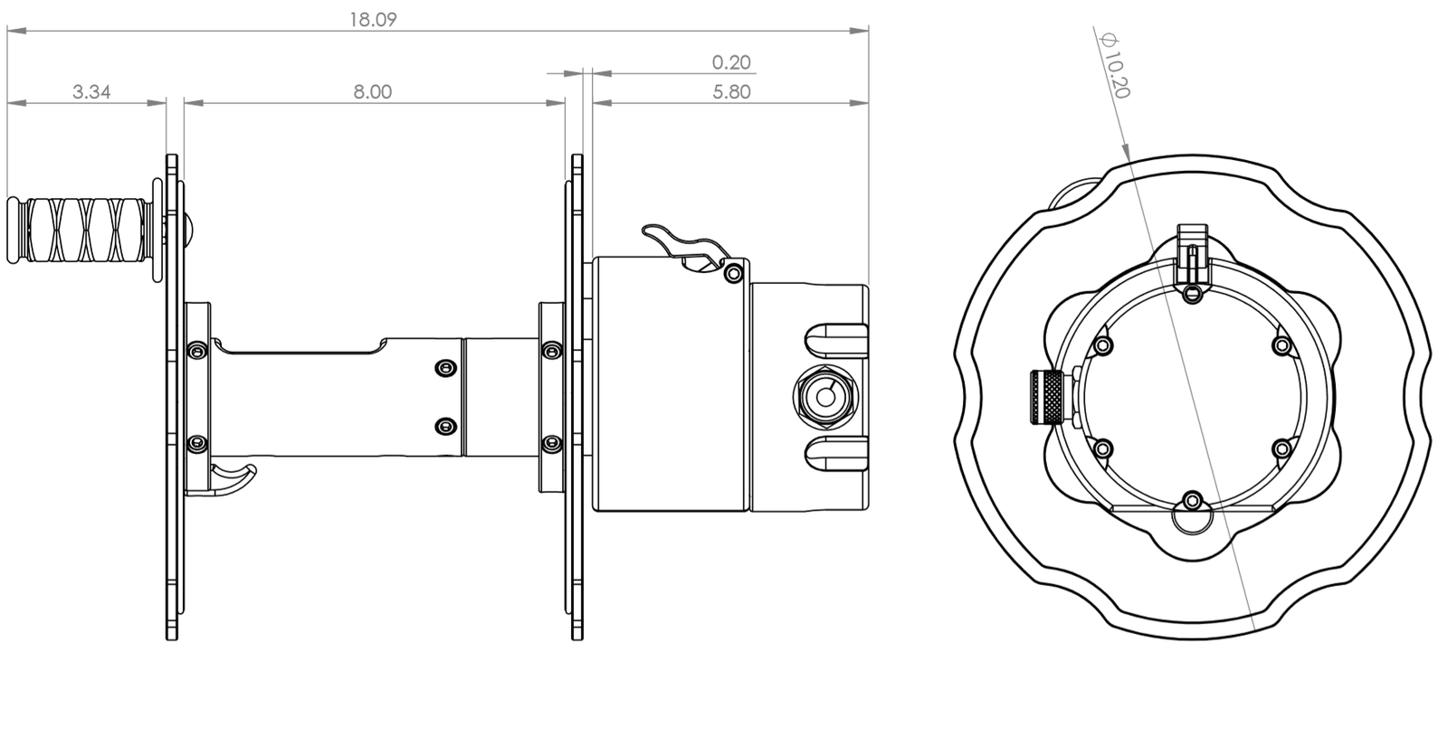 3 Wire Electric Reel for Rig Welding