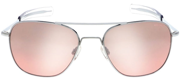 Randolph - Aviator - Bright Chrome 58mm - Spex In The City