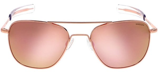 Randolph - Aviator - 22K Rose Gold - Spex In The City