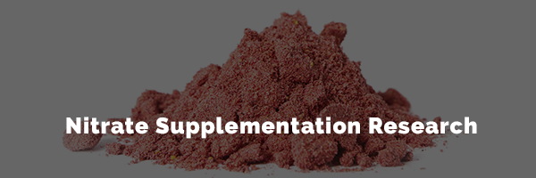 nitrate supplementation research
