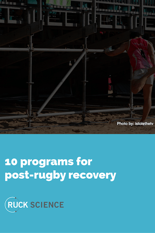 rugby recovery programs