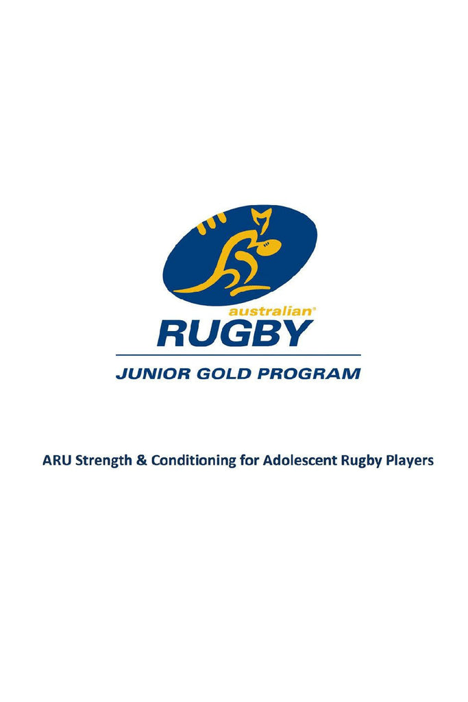 junior rugby strength program