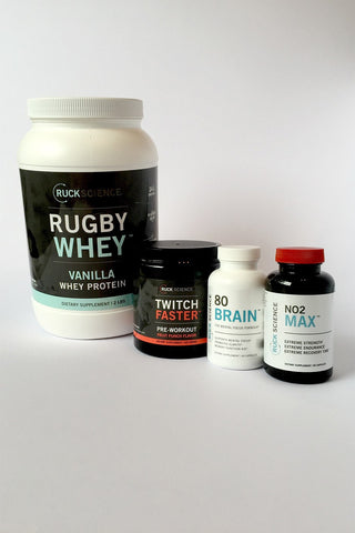 rugby supplement stack