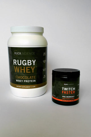 rugby training supplement stack