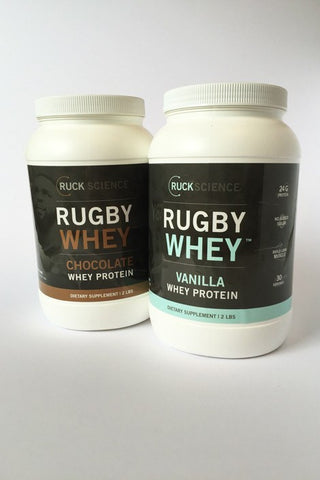 twin rugby whey protein pack
