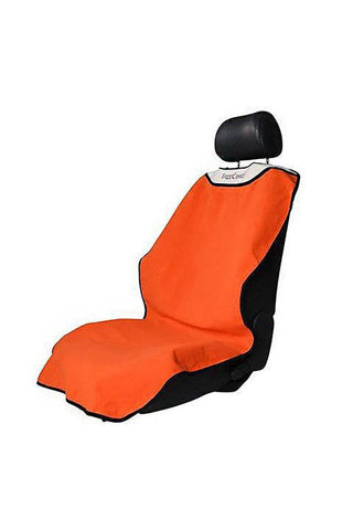 orange washable car seat cover