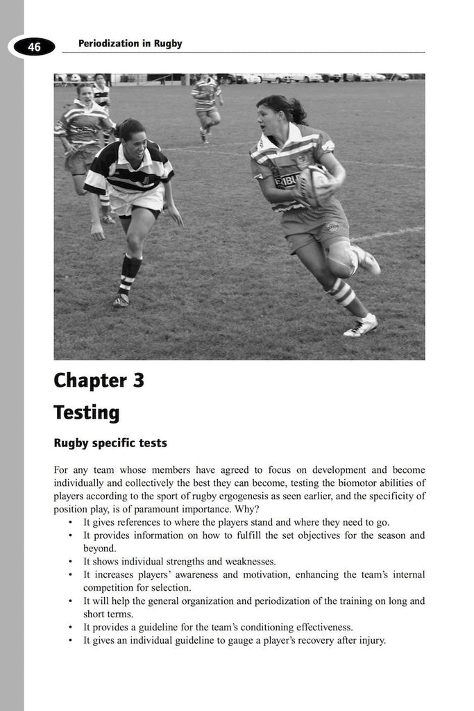 periodized approach to rugby