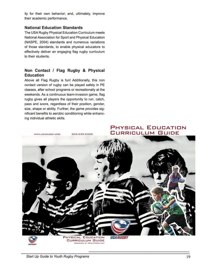 ebook youth rugby programs